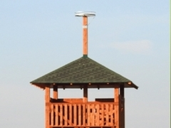 New seven-meter observation post in a unique area of bird bow Kozmické ptačí louky