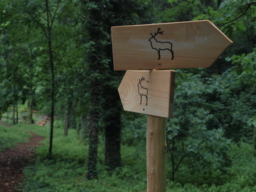 New fun trail for children and parents in Zásmuky near Kolín