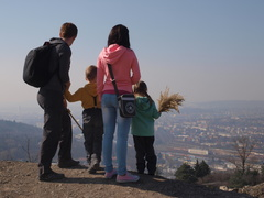 A new educational trail installed on Hády Hill above Brno!